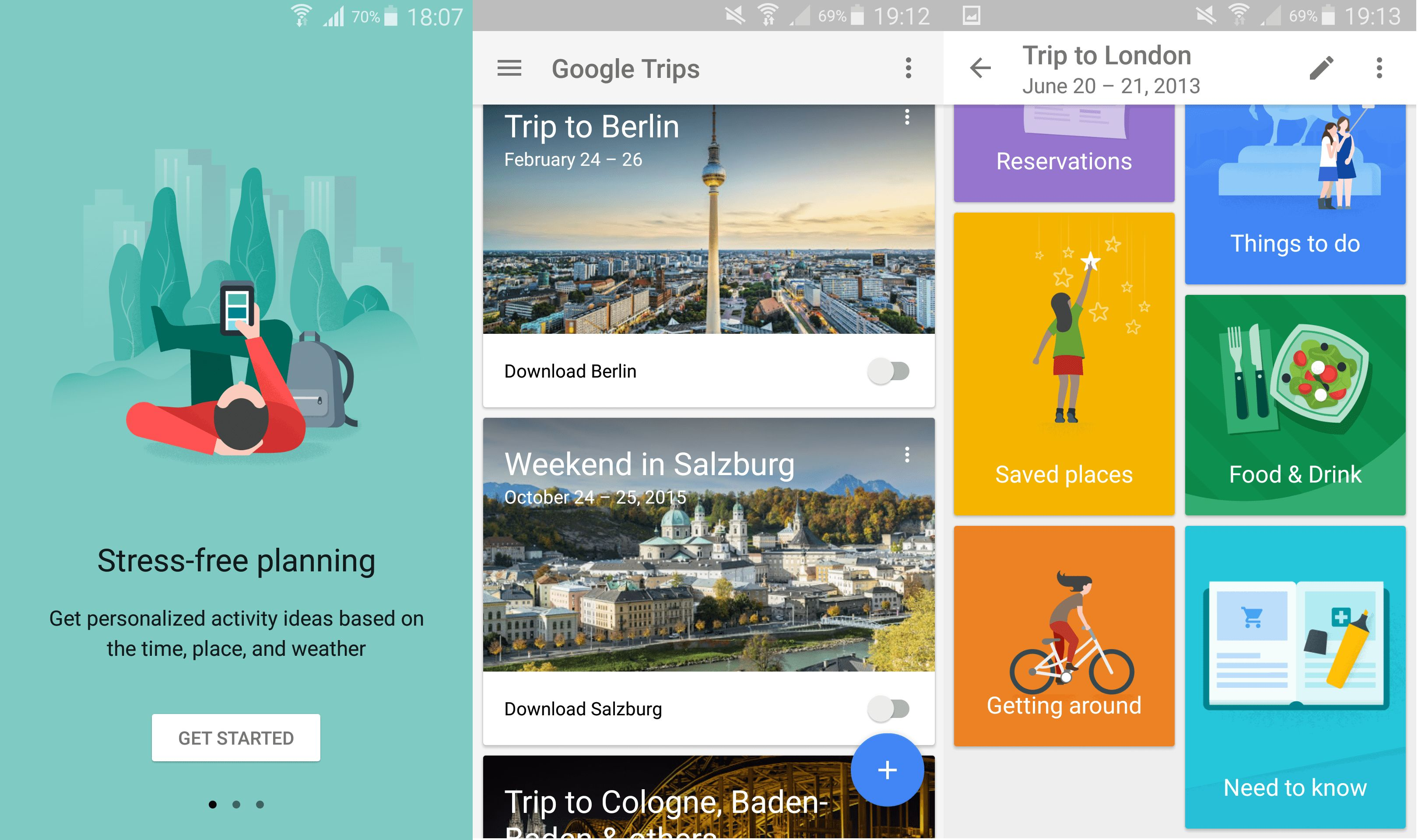 Google Trips A simple travel planner for the Gmail user