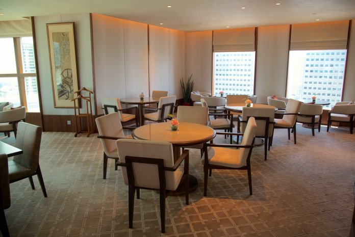 Main Club lounge seating area