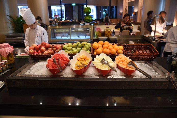 Selection of fresh fruits