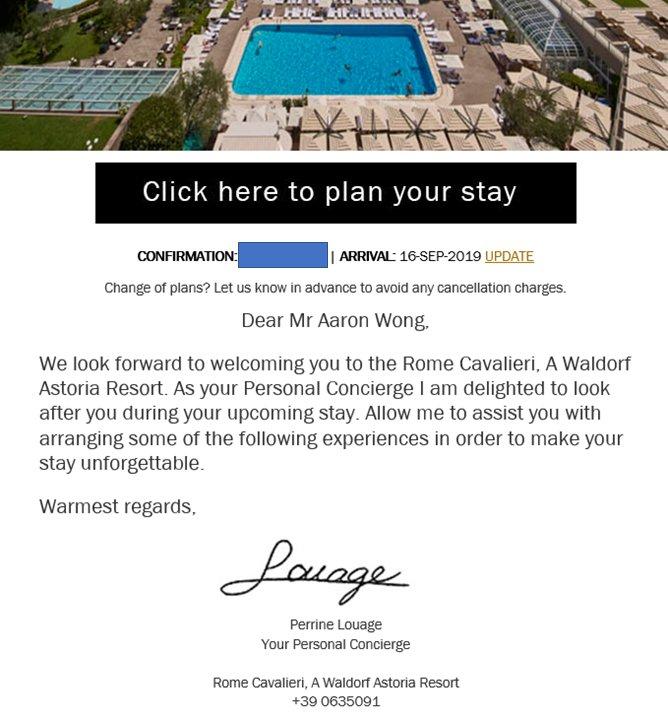 Review: Rome Cavalieri, A Waldorf Astoria Resort | The ...