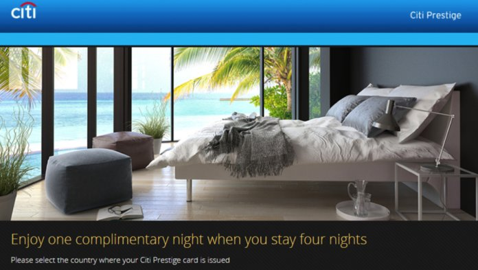 Citi Prestige adds further restrictions on 11th Night Free benefit