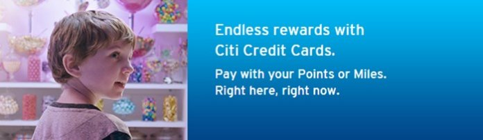 citi pay with points
