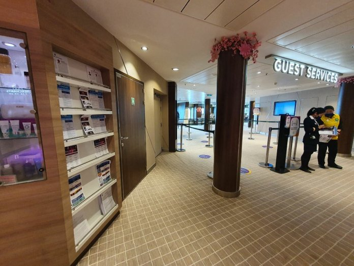 Quantum of the Seas Guest services