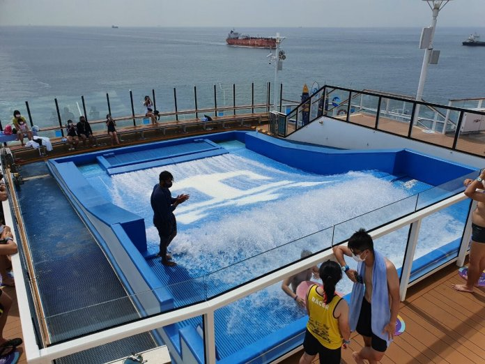 Quantum of the Seas Flowrider