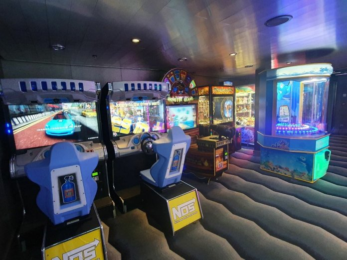 Quantum of the Seas arcade