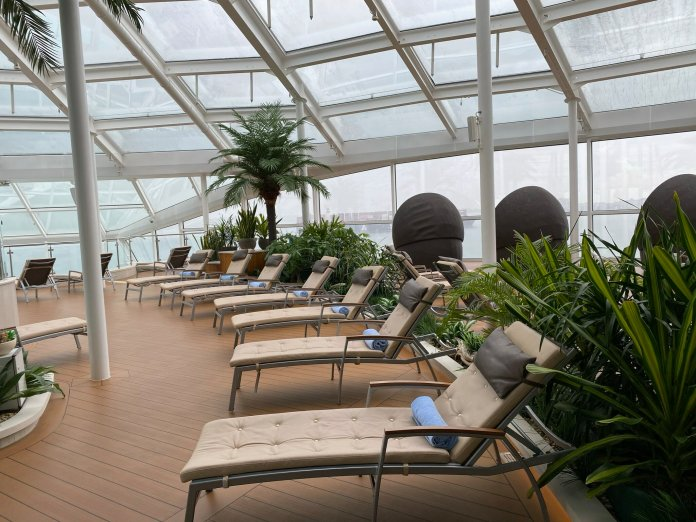 Quantum of the Seas solarium