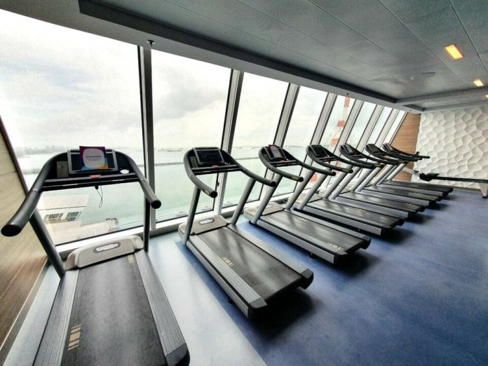Quantum of the Seas gym