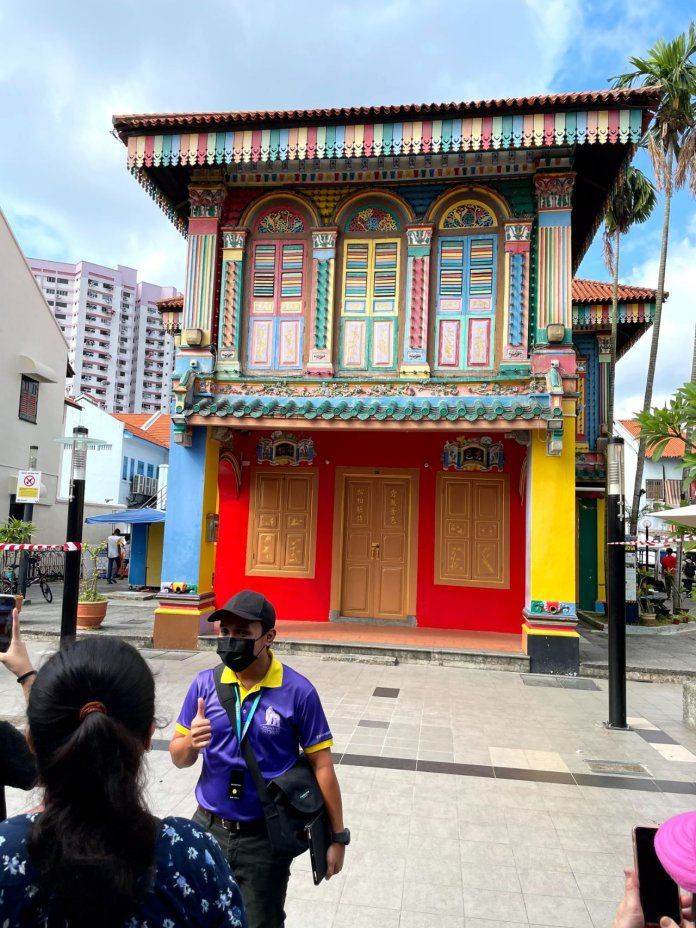 Monster Day Tours Peranakan building
